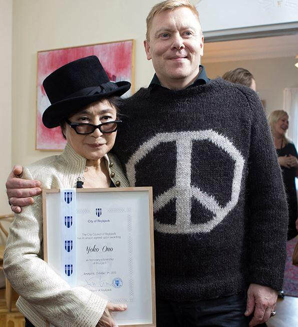 Yoko Ono & Jon Gnarr